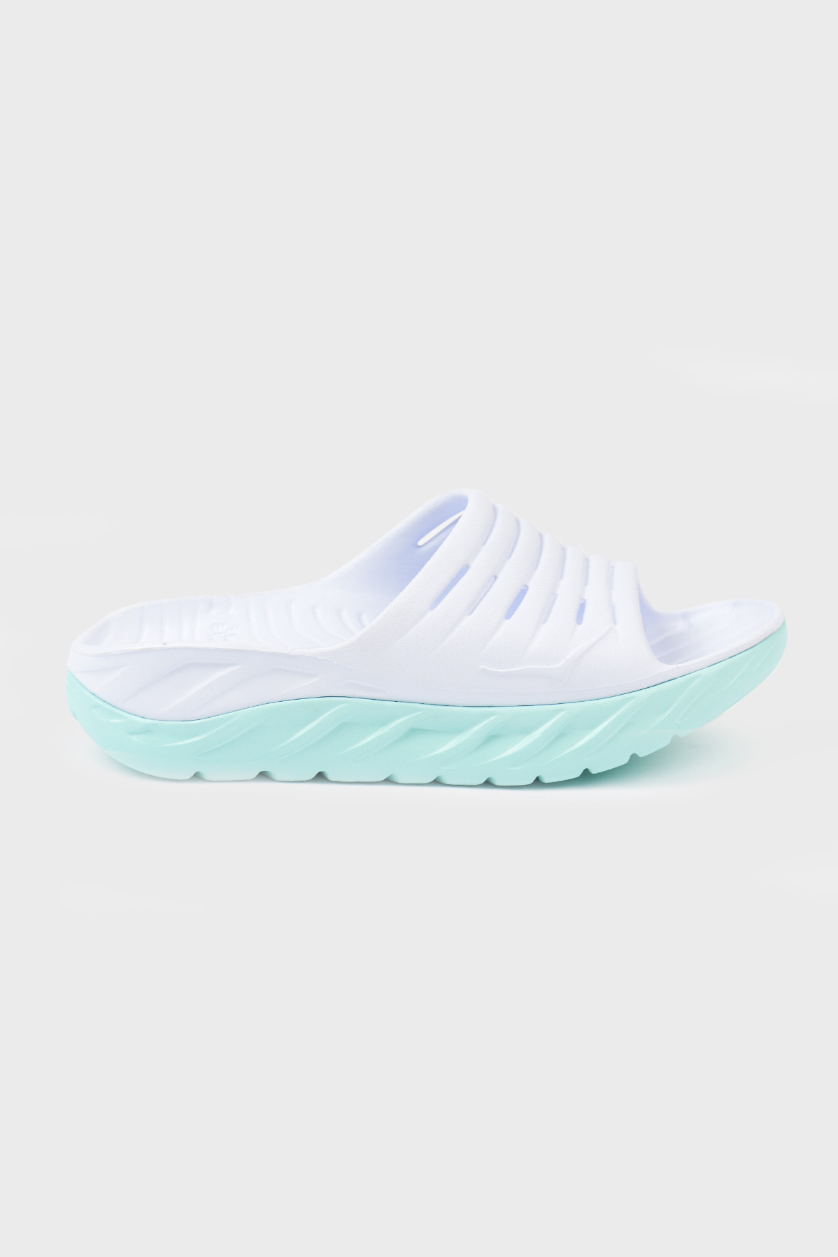 Hoka one one - Ora recovery Slide 2 - White Blue tint