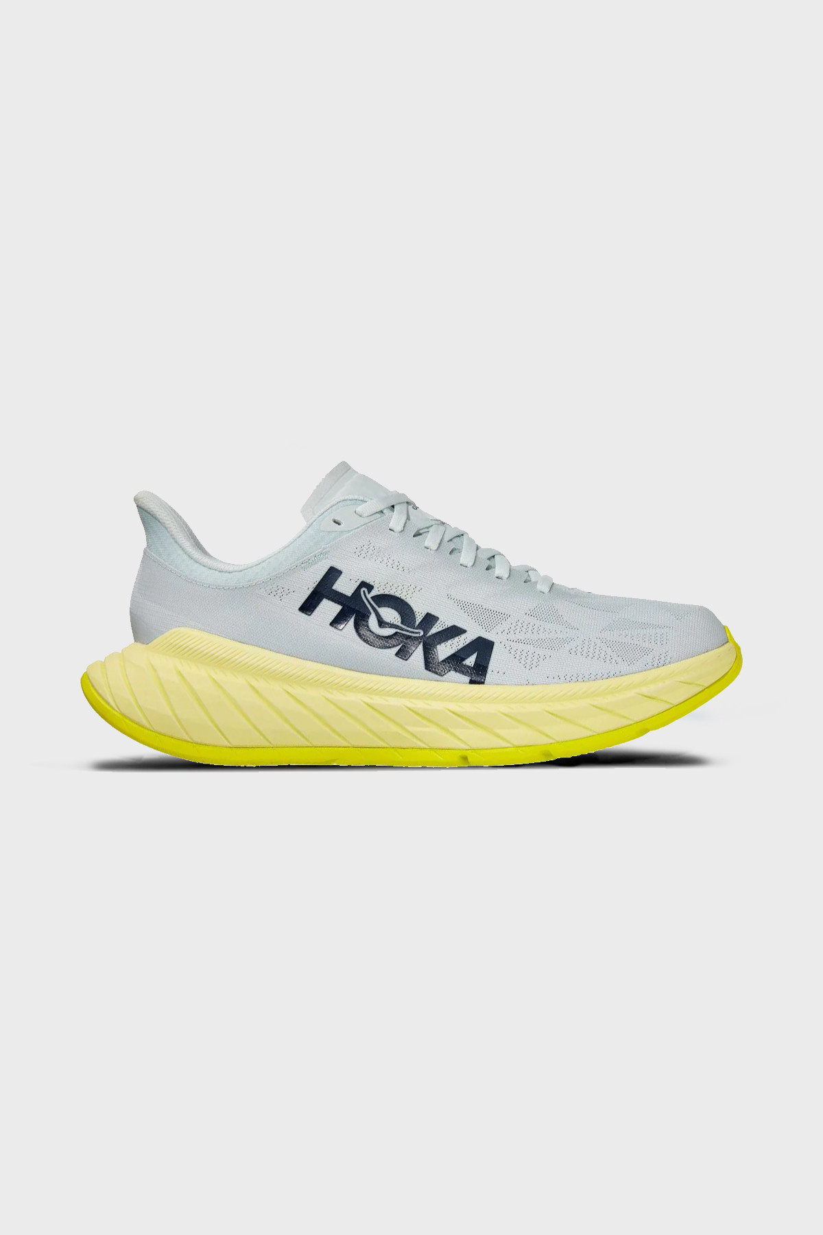 HOKA ONE ONE - CARBON X 2 - BLUE FLOWER LUMINARY GREEN