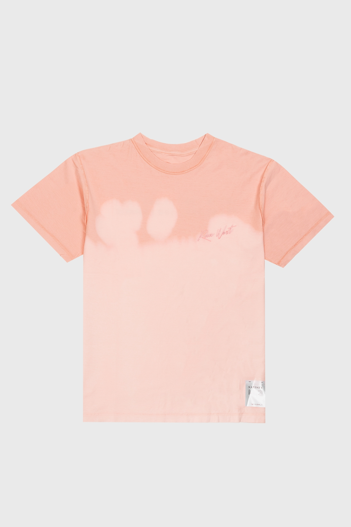 Distance x satisfy - Reverse Tee - Pink