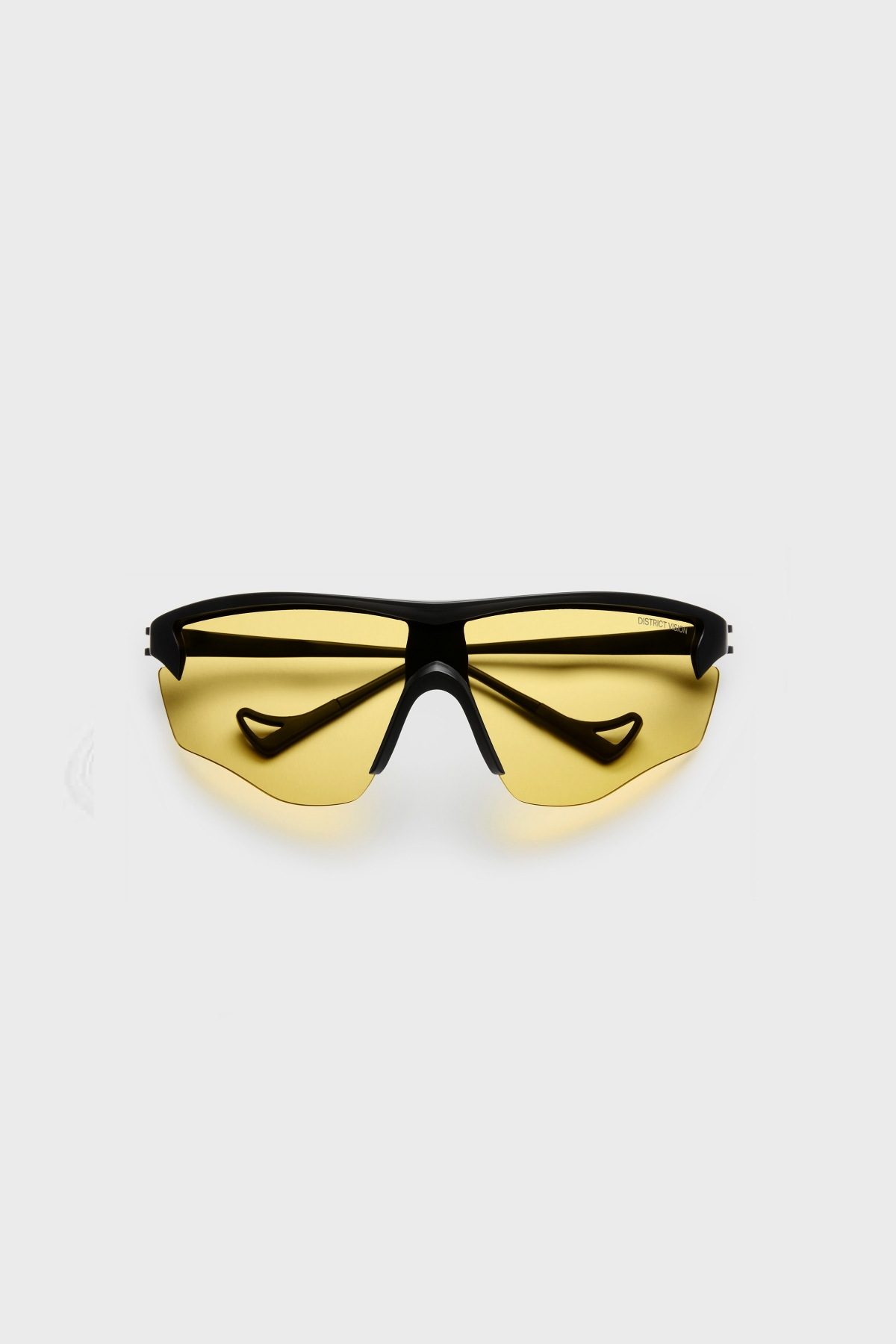 District Vision - Junya Racer - Black Sports Yellow