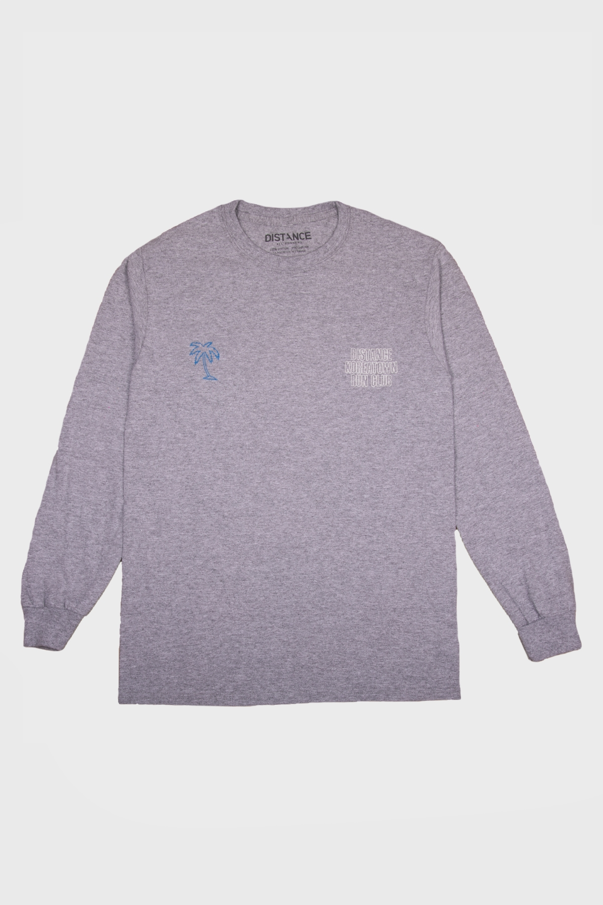 Distance x KRC - Long sleeve LA Marathon 2020 - Grey