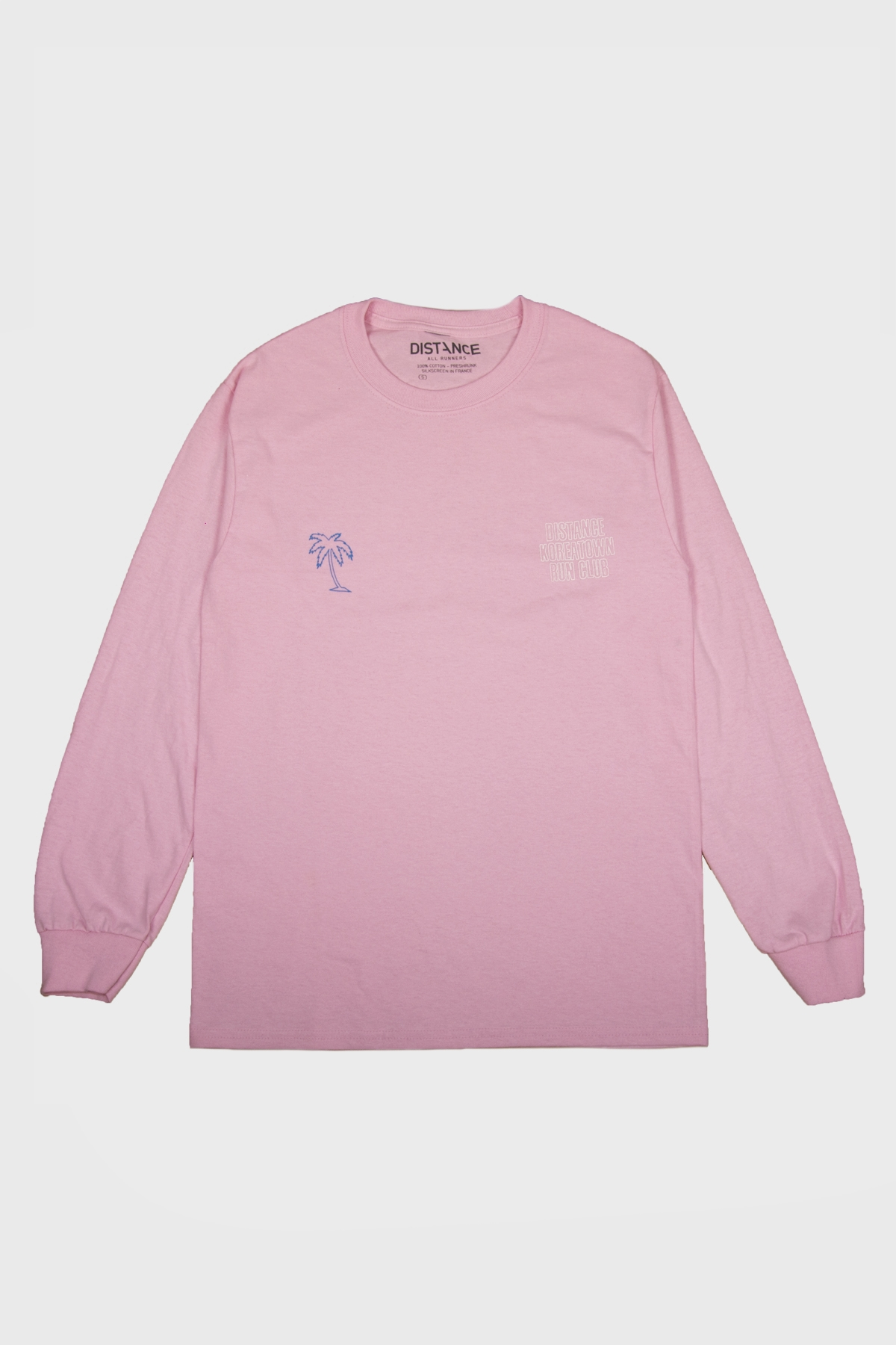 Distance x KRC - Long sleeve LA Marathon 2020 - Pink