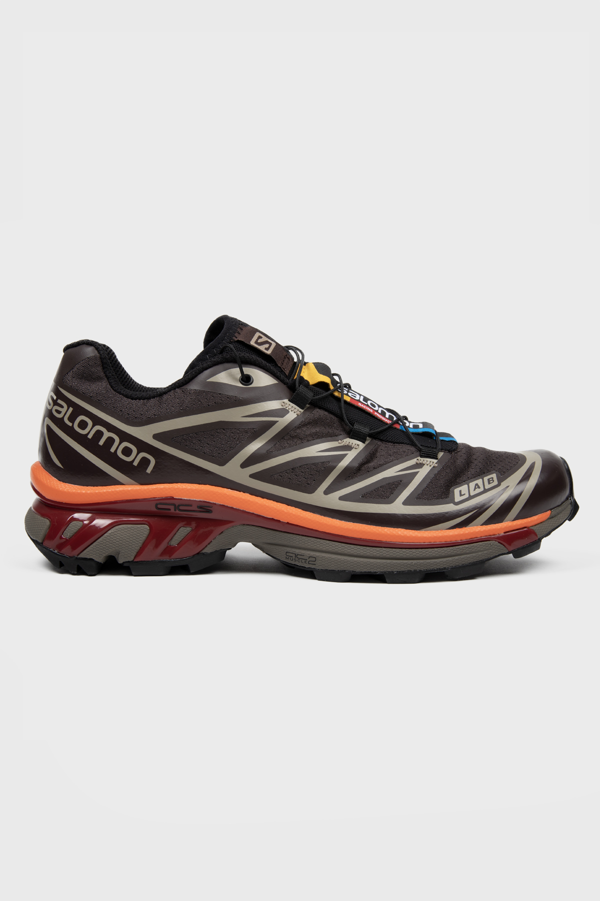 Salomon - S/LAB XT-6 ADV - Shale Chocolate plum red orange