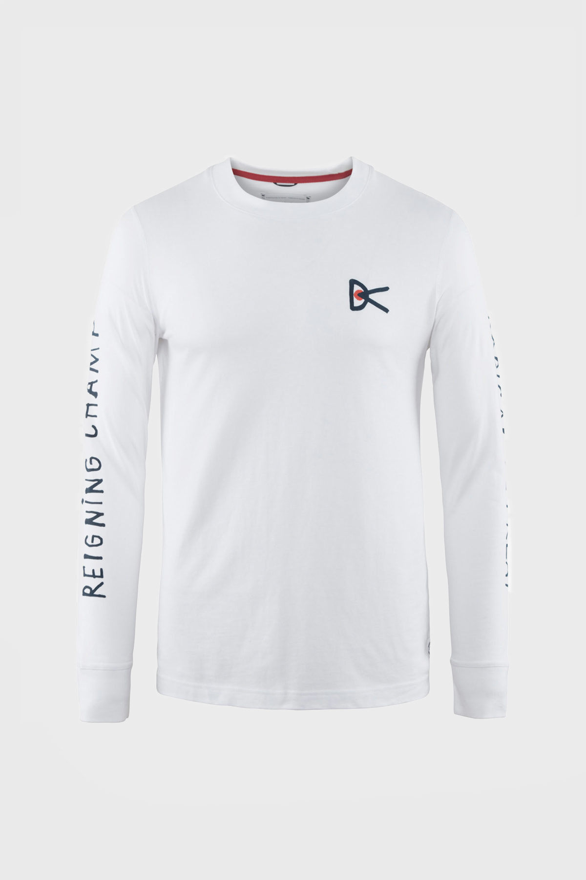 District Vision - retreat long sleeve - White