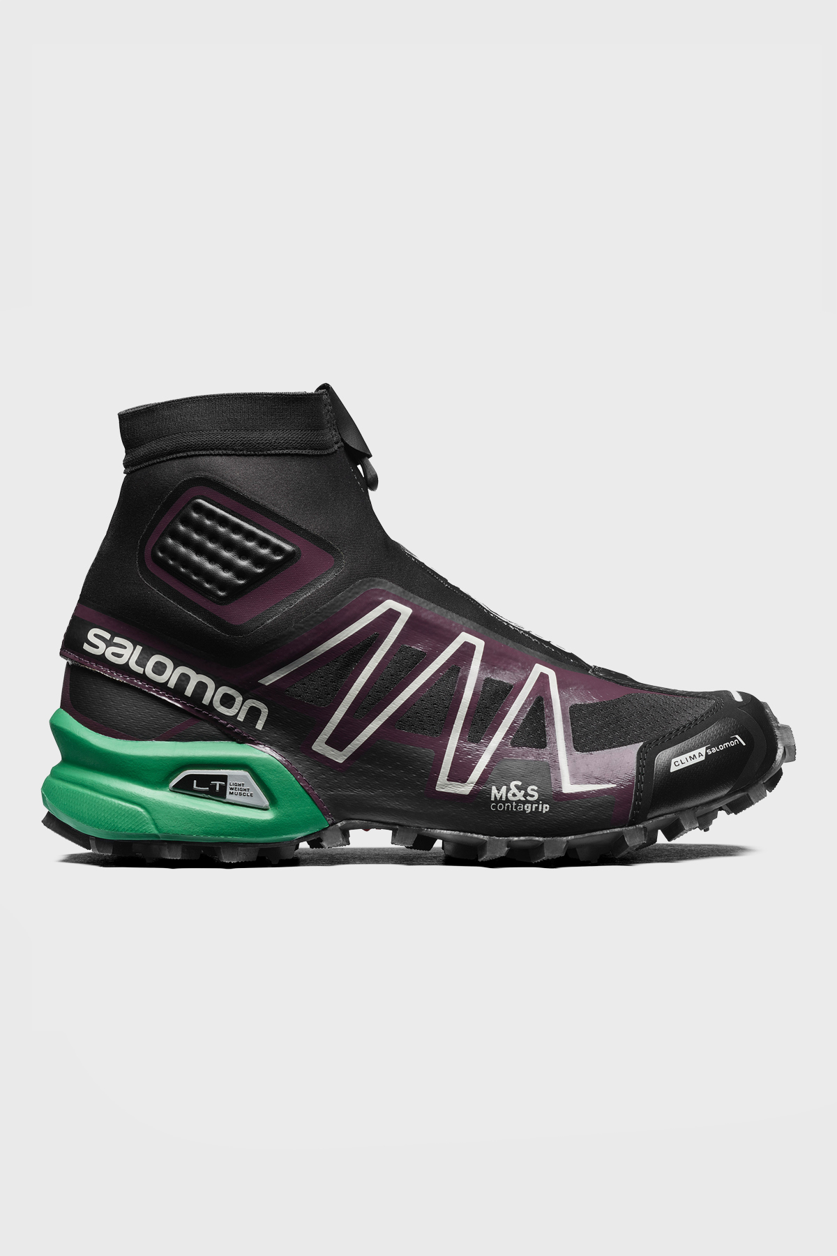 Salomon - SNOWCROSS ADV LTD - Black maverick Amazon