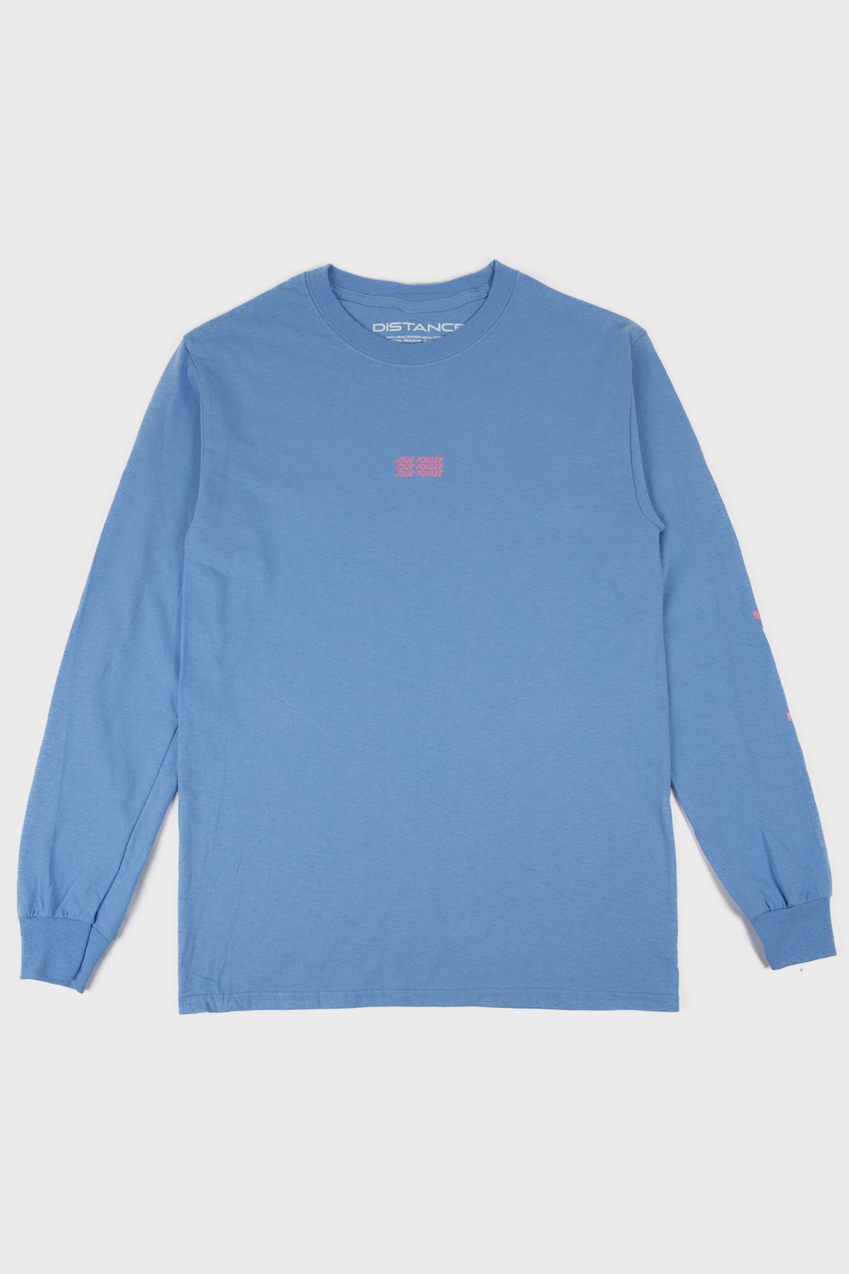 Jolie Foulée - Untalented Runners Long sleeve - Blue Pink