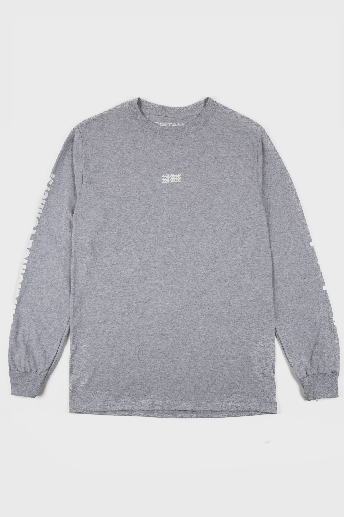 Jolie Foulée - Untalented Runners Long sleeve - Grey White