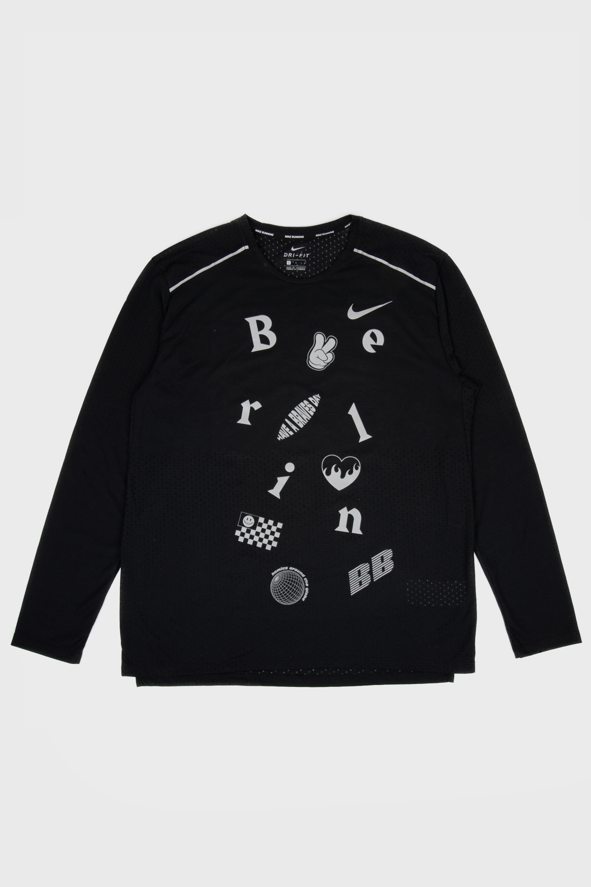 Berlin Braves - Nike Long Sleeve - Black