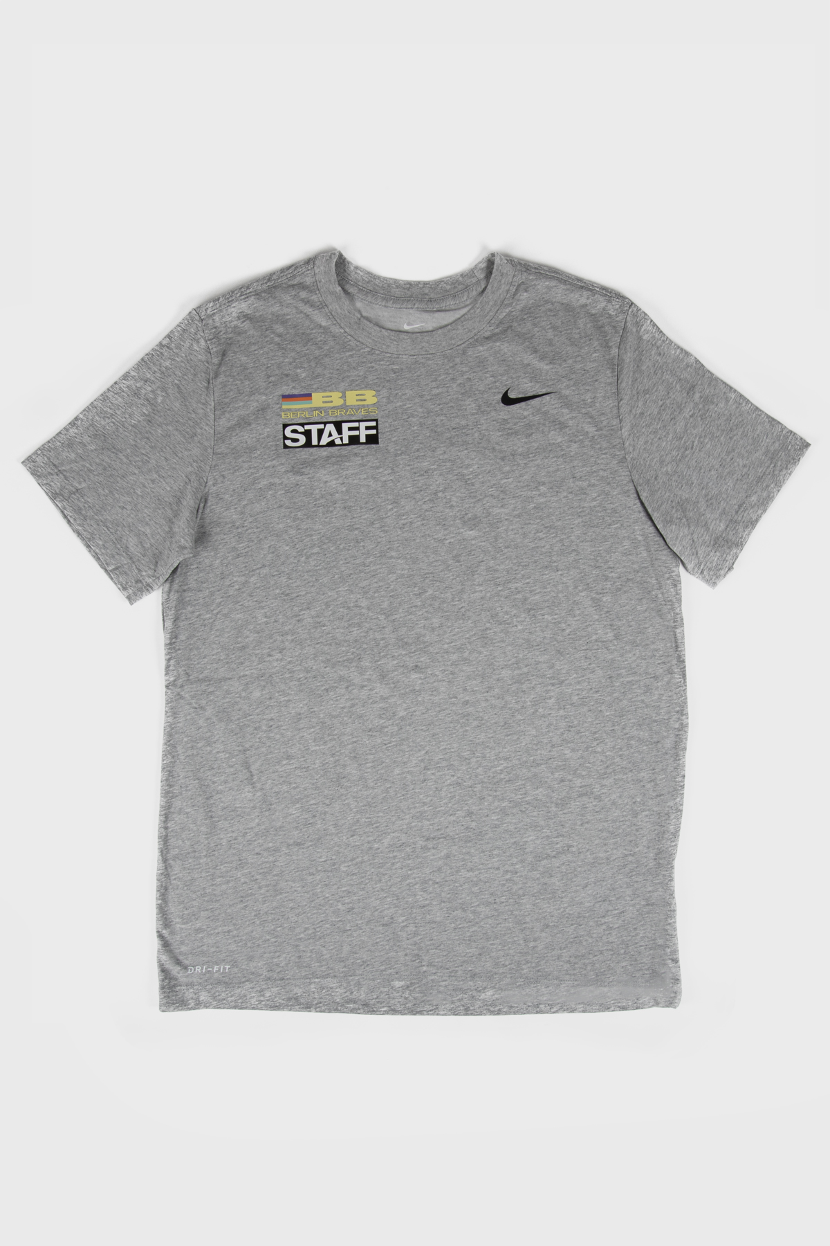 Berlin braves - Nike Braves TV staff Tee - Grey