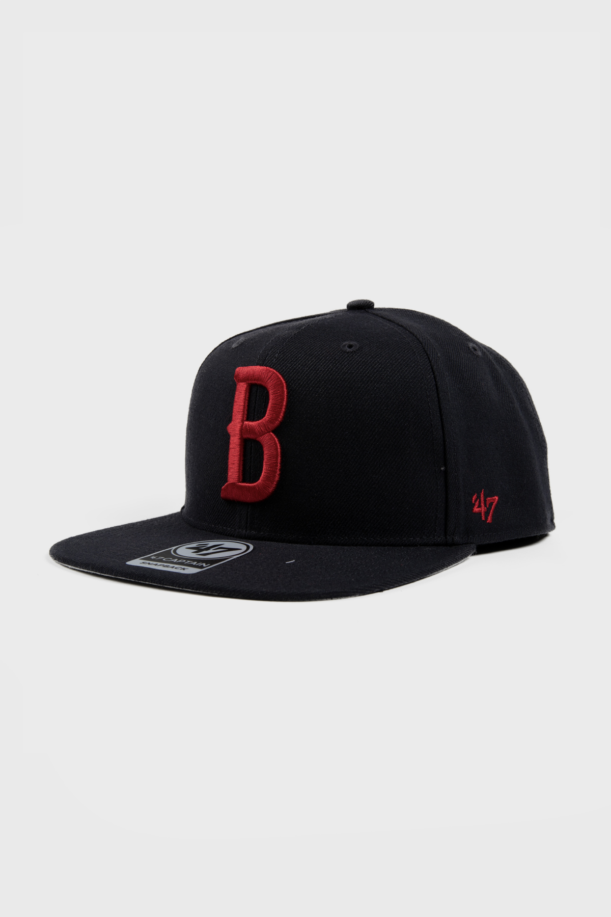 Berlin Braves - NAVY 'B' SNAPBACK - Black red